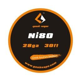WIRE NI80 28GA (10 M) -...