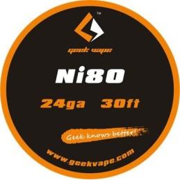 WIRE NI80 24GA (10 M) -...