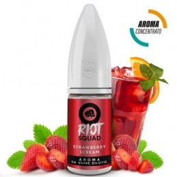 AROMA CONCENTRATO RIOT SQUAD - STRAWBERRY SCREAM - 10 ML