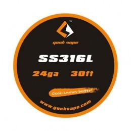 WIRE SS316L 24GA (10 M) -...